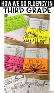 how we do reading fluency in third grade classroom organization