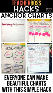 teacher classroom hack anchor chart