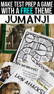 jumanji test prep theme free third grade sol test