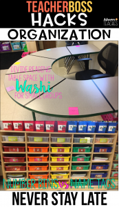 teacher classroom hack organization