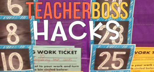 teacher classroom hack management unfinished work