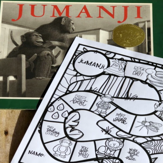 jumanji test prep game board