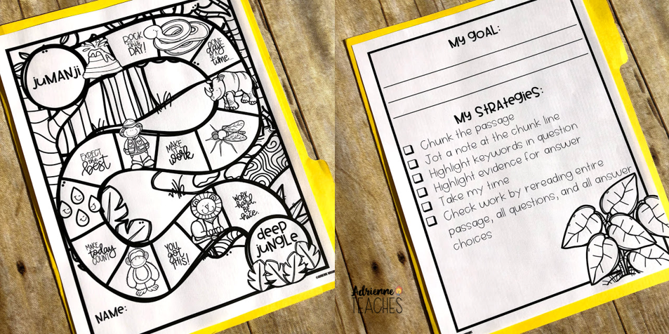 Are You Game For Testing Jumanji Themed Test Prep Fun