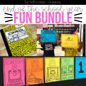 end of year countdown awards scrapbook