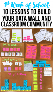 back to school first week class lessons community data