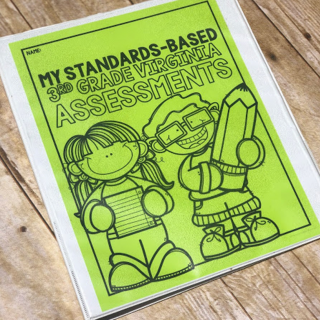 standards based assessment binder
