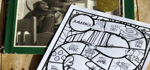 jumanji test prep game board