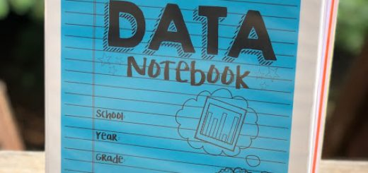 data notebook back to school