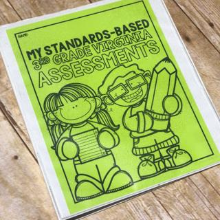 standards based assessment binder